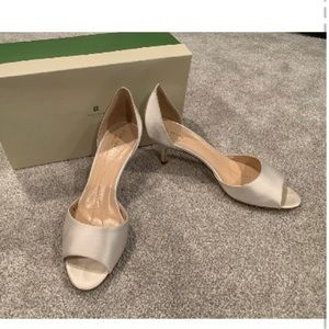 Kate Spade d'orsay kitten heels